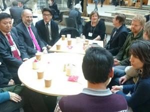 UK Parliamentary Debate Photo: SFT/facebook