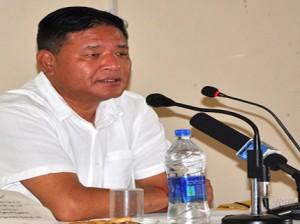 Penpa Tsering, the current Speaker