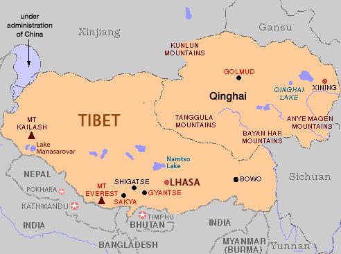mount kailash map - Tibetan Magazine for Tibet News & Issues