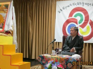 Finance Kalon Tsering Dhondup in Minnesota, US Photo: Office of Tibet
