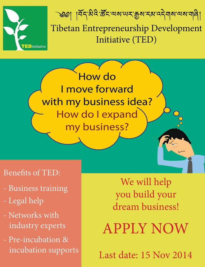 Tibetan Entrepreneurship Development Initiative (TED)