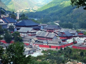 Buddhist temples on Wutai Shan Mountain in Wutai county, northwest China's Shanxi province Photo: imaginechina