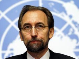 Zeid Ra'ad al Hussein Photo; Reuters/Denis Balibouse