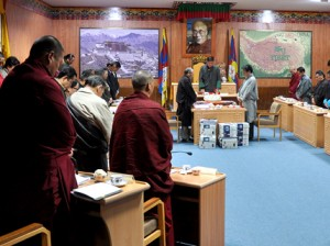 At the inaugaral session Photo: DIIR/Tenzin Phende