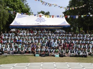 Participants of the meeting in Dharamshala Photo: TWA