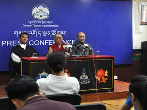 34th Kalachakra organising committee's press conference on 25 August 2016 Photo: tibet.net