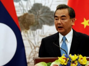 Chinese foreign minister Wang Yi  Photo Reuters