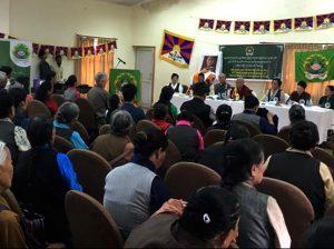 The TWA meeting Photo: The Tibet Post